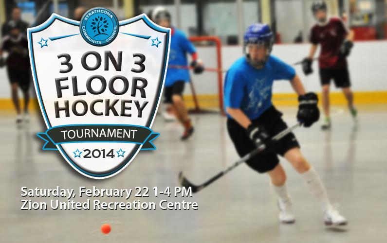 Strathcona Floor Hockey Tournament