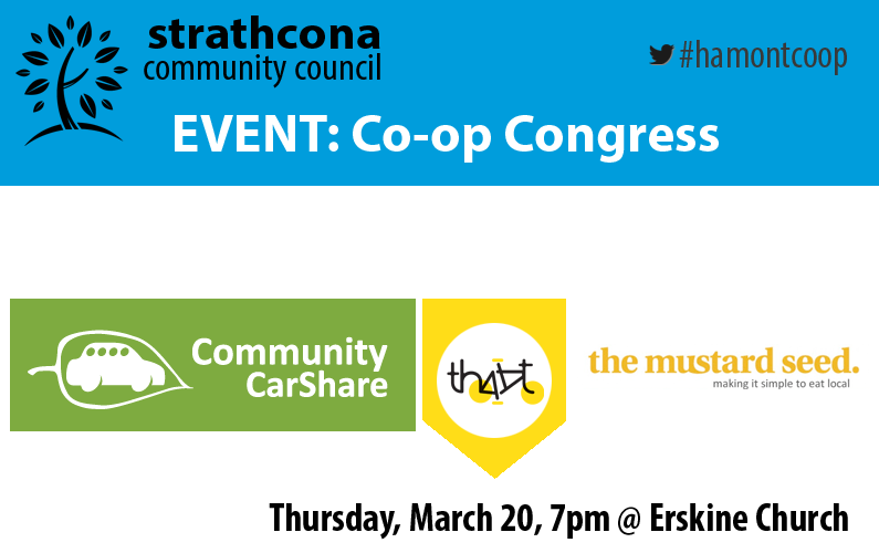Strathcona Presents: Co-op Congress